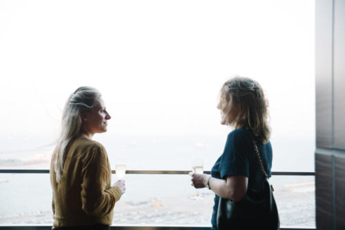 Josephine Tinsley (Aramco), Kirstie Nicholson (BHP Billiton)
