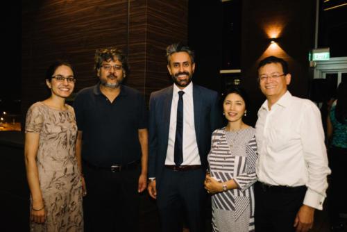 Raman Kaur, CP Khetan, Baldev Bhinder, Rajini & Nirmal Singh