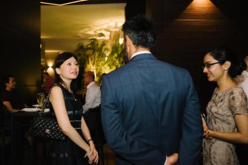 Serena Ng (Partner Re), Baldev Bhinder (BG), Raman Kaur (BG)
