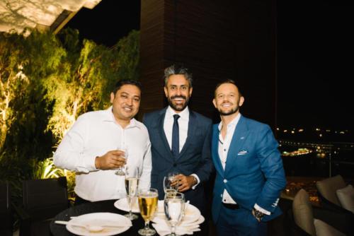 Dheeraj Chandra (Atradius), Baldev Bhinder (BG), Alex Bursak (Euler Hermes)