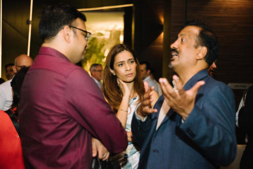 Kiran S (Spade Consulting), Kohe Hasan (RS), Venkat (Olam)