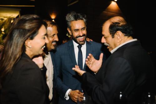 Sharan Bhinder, Venkat P (Olam), Baldev Bhinder (BG), Sateesh Dev (Modec)