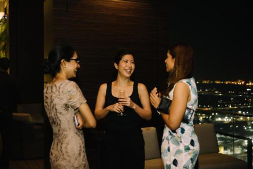 Raman Kaur (BG), Wei Yen Yip (Bunker Group), Kohe Hasan (RS)